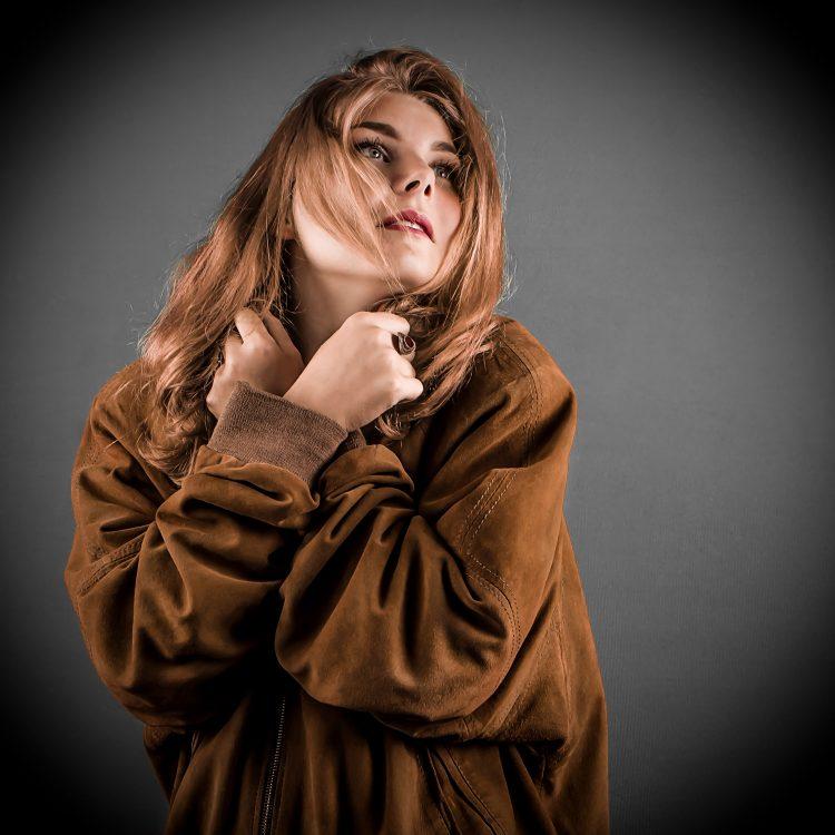 Portrait d'art et mode - Création Idan Wizen