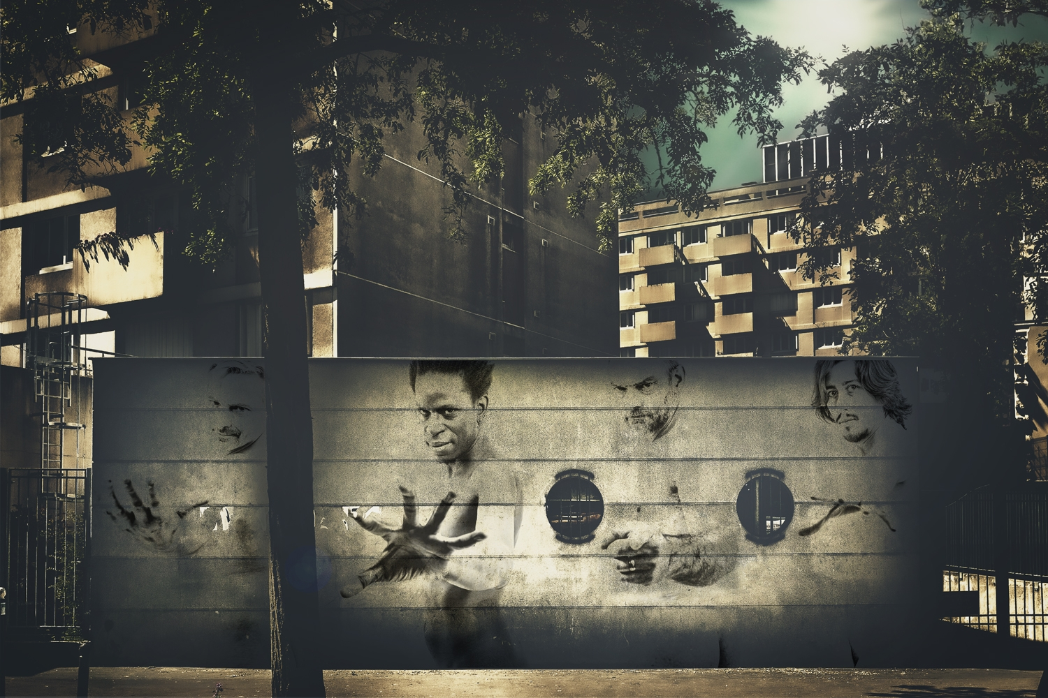 Appollon Square - Virtual Street Art by Idan Wizen