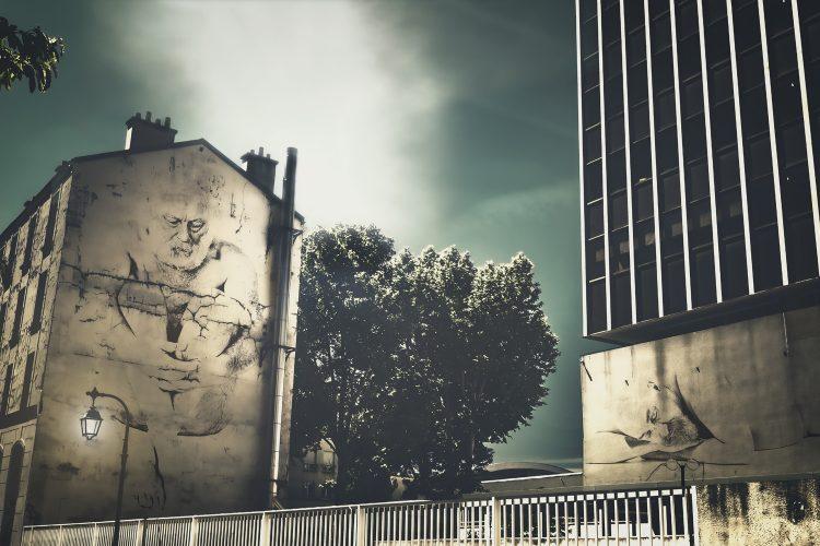 Old Square - Virtual Street Art by Idan Wizen