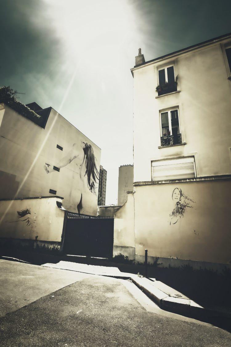 Dancing Street - Virtual Street Art by Idan Wizen